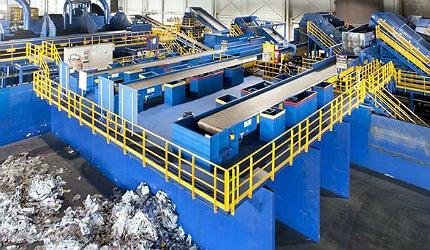 Akron recycling facility