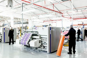Redevelopment of the CTP flexibles Cape Town site has resulted in a 5,000m2 slitting hall where seven of the ten slitter rewinders are Titan machines