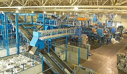 Built at an estimated cost of £17m, the plant produces 11 different types of plastics