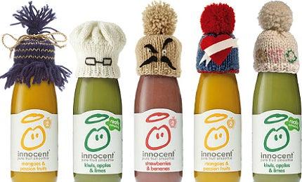 Innocent Drinks social media branding packaging twitter