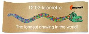 Mondi longest drawing ever
