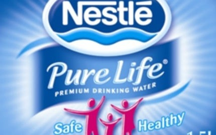 Nestle Pure Life, which was launched in 2008, achieved a market share of 4.5% by 2011
