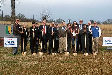 The plant will be located at the Industrial Park of Monticello