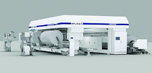 The next generation Atlas CW1040 Series primary film slitter will be installed at Daelim Industrial early in 2013