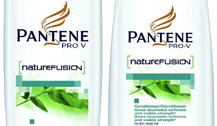 Pantene's bioplastic derived bottle
