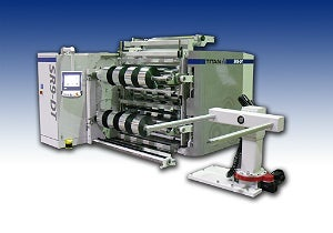 Titan SR9-DT Dual Turret Rewinder Boosts Production for Cenveo - Gilbreth Packaging (US)