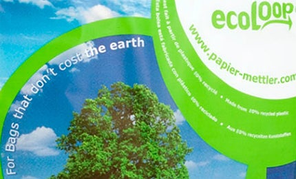 The bags are sold under the brand name, ecoLoop