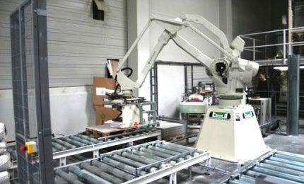 Palletiser robot