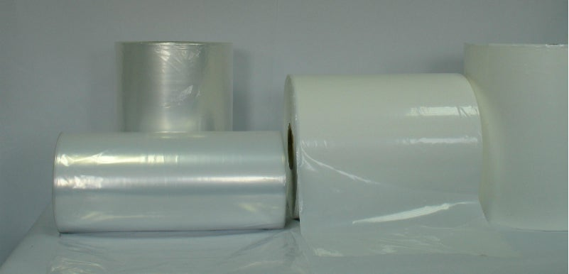 rolls of shrink wrap
