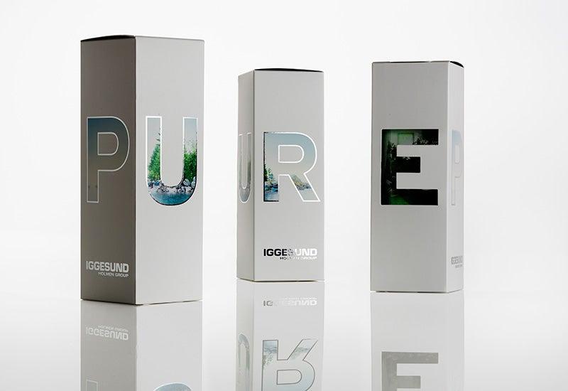 Iggesund Pure boxes