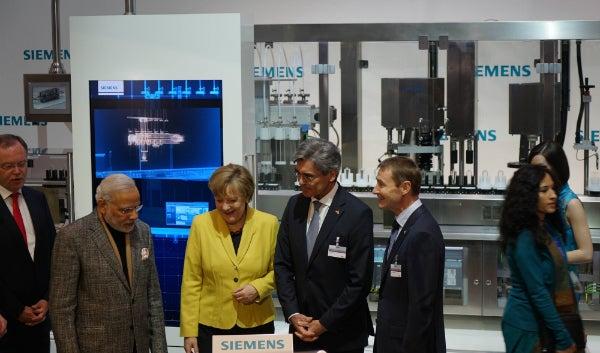 Angela Merkel Siemens, Optima