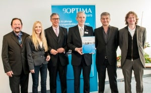 Optima celebtates its 90th anniversary with the release of a book chronicling the company's history.