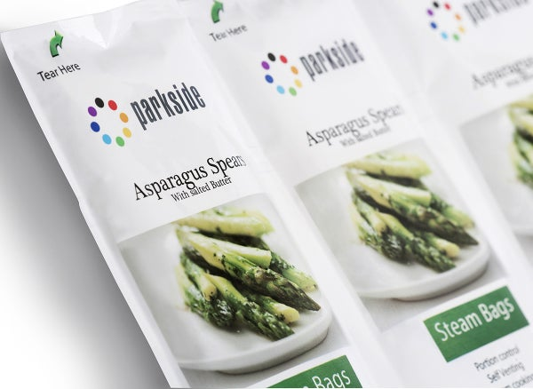 parkside asparagus steam bag