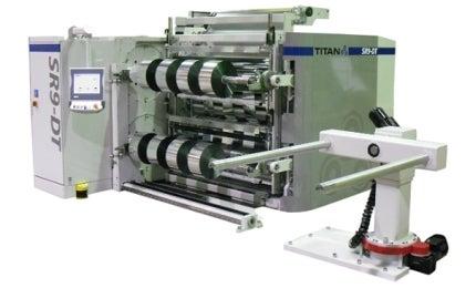 Titan SR9-DT Dual Turret Rewinder