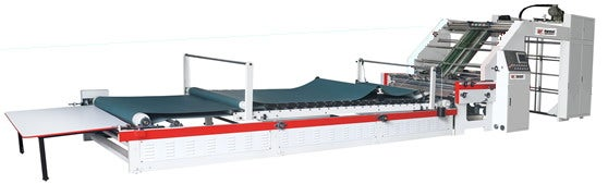 laminating and mounting machines for flute packaging