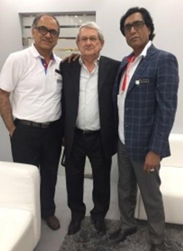 Ajay Tandon, Gianfranco Nespoli, Ashok Chaturvedi