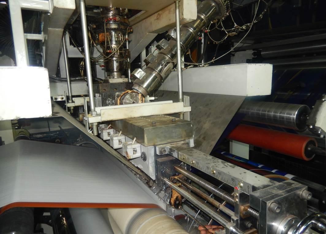 exrusion lamination machine
