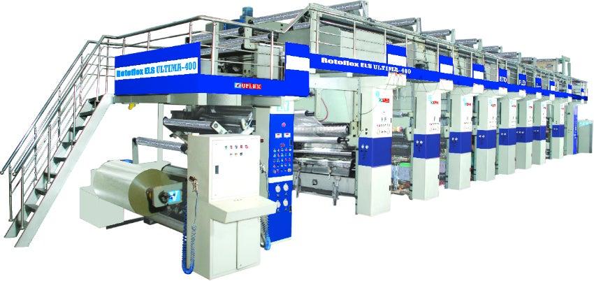 Electronic Line Shaft (ELS) based Rotogravure Printing Machine Ultima - 400