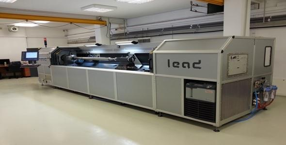 leas laser sleeve making line, Uflex