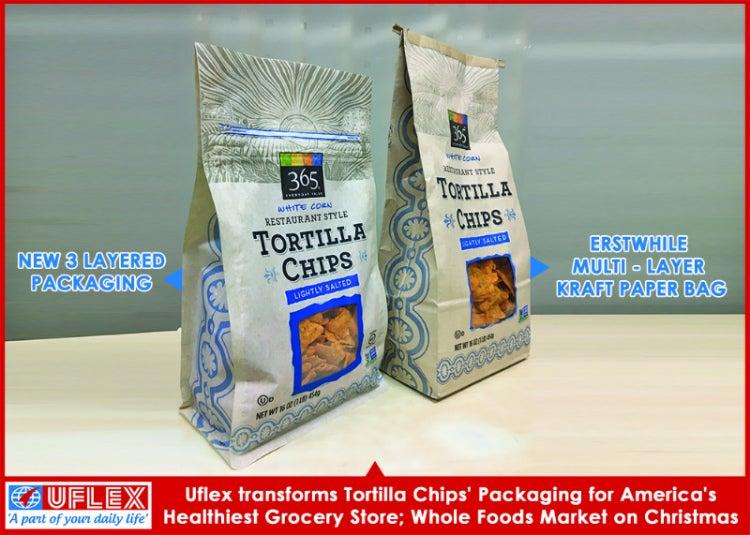 tortilla chips packaging, uflex
