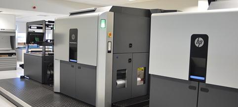 HP Indigo 20000 printer