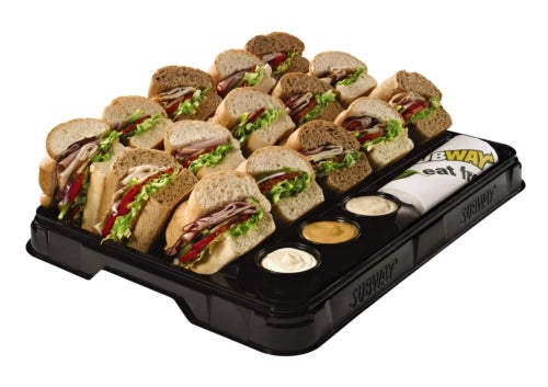 Subway_ Recyclable tray