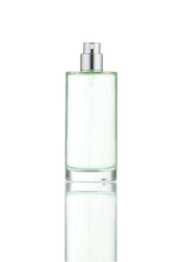 Pump for glass fragrance bottles
