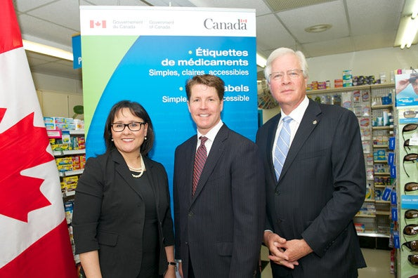 Drug labelling initiative launch announcement