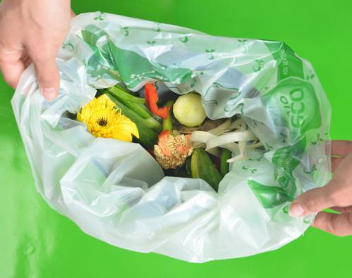 Organic waste bag