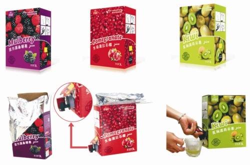 Bag-In-Box fruit juice beverages