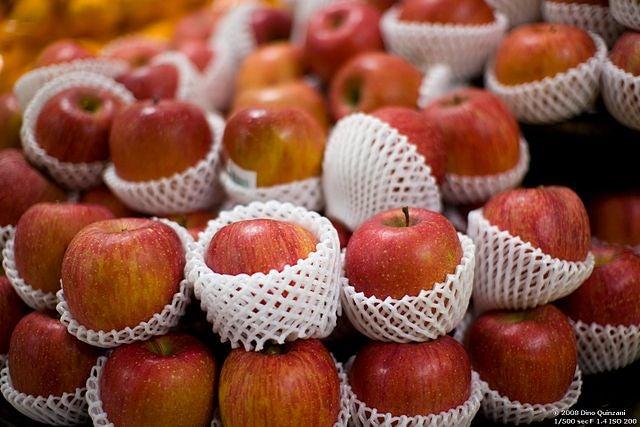 Apples packaging